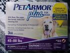 Pet Armor Plus Dog Puppy 3 Applications Flea/Egg Tick Chewing Lice 4-132lbs