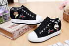 NEW Girl's Women's Shoes Canvas Cartoon Print Flat Shoes Leisure Athletic shoe