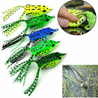 5X Fishing Lures Topwater Frog Crankbait Tackle Bass Soft Swimbait Hard Bait