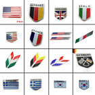 Us,italy,japan,greece,germany,france,korea Flag Car Sticker Emblem Badges Decals