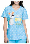 Cherokee Tooniforms The Secret Life Of Pets I Expect Treats Scrub Top Sz XS-XXL