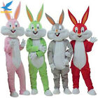 Easter Bunny Rabbit Bugs Mascot Costume Easter Party Cosplay Fancy Dress Parade