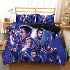 New The Avengers 4 Film beding set Quilt Cover with Pillowcase Single Double #5