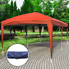 3X6M POP UP Gazebo Wedding Party Tent Canopy Marquee Waterproof W/ Carry Bag