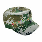 Military Army Hat Cadet Cap Camouflage Plain Solid Adjustable Infantry