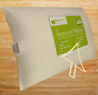 Natural Talalay Latex Pillow with Organic Cotton Cover - Standard,Queen,King image