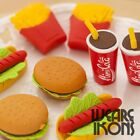 Fast Food Coca Cola Pinata Fun Erasers Rubbers Kids Party Bag Fillers Choose Qty £0.99  on eBay
