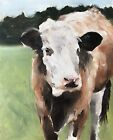 Cow Art PRINT Wall Art from original oil painting by James Coates 827