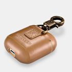 ICARER for Apple AirPods Luxury Genuine Leather Charging Storage Case