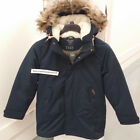 ABERCROMBIE & FITCH MENS M51 DOWN-FILLED PARKA JACKET NAVY SIZE XS,M