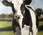 Cow Art PRINT Wall Art from original oil painting by James Coates 675