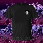 Genuine Official Triumph Racing Speed Bikers Motorcycle Black Mens Tee T-Shirt $26.32 CAD on eBay