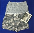 Michael Kors Mens Underwear Airsoft Touch Stretch 2 Woven Boxer Gray Camo S M L
