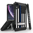 Military Grade Shockproof Case w/Stand Hybrid Cover for iPhone X / XR / Xs Max