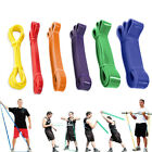Heavy Duty Resistance Stretch Loop Band Gym Fitness Elastic Rubber Rope Strap image