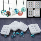 Silicone Beads Jewelry Mold Bracelet Pendant DIY Making Mould Resin Craft Tool
