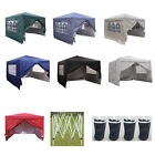 Panana New 3x3m Waterproof Pop Up Gazebo Garden Wedding Party Tent with...