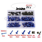 Universal Motorcycle Screw Set Windscreen Fairing Bolts Kit Fastener Clip Screw