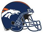 Denver Broncos Helmet Decal ~ Car / Truck Vinyl Sticker -Wall Graphics, Cornhole $6.99 USD on eBay