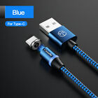 CaseMe LED Magnetic Type-C Mirco Charging USB Cable For iphone 11 Pro X Samsung