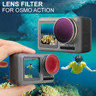 Diving Camera Lens Filters Optical Glass Lenses Set For DJI OSMO Action Camera