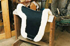 Sheepskin Dressage Numnah Saddle Pad Lined W/Full Rolled Edge - 3 Colors