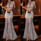 Kyпить Women Lace Slim Maxi Long Dress Bridesmaid Evening Party Cocktail Prom Ball Gown на еВаy.соm