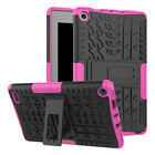 Heavy Duty Rugged Shockproof Hybrid Kickstand Case For Amazon Kindle Fire 7 HD 8