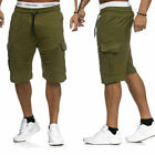 Men Cargo Shorts Pants Casual Army Combat Camo Summer Camping Trousers Bottom
