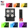 SANSI 30W RGB LED Flood Light Outdoor Color Changing Waterproof IP66 Party Light