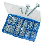 Zinc 4g 6g 8g 10g 12g Pan Combi Self Tapping Screws TORRES Assortment Kit #HAK03