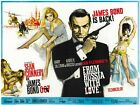 "From Russia with Love Movie Silk Fabric Poster 12""x16"" 24""x32"" $11.74 CAD on eBay"