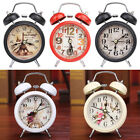 Classic Retro Alarm Clock LED Light Double Bell Round Digital Clock Desk Decor