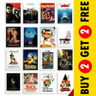 Classic Cult Film Posters, Movie Posters A3 A4 Size Nostalgic Home Cinema Decor £7.49 GBP on eBay