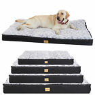 Waterproof Jumbo XL Pet Bed for Large Dog Orthopedic Mattress Cushion Washable