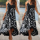 CA Lady Cocktail Party Evening Summer Beach Sundress Women Boho Long Maxi Dress