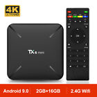 TX6 MINI Android 9.0 H6 Quad Core TV BOX Wifi 2.4G 4K HD Media TV Caja 2GB 16GB