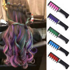 1pc Temporary Dye Colour Hair Chalk Soft Pastel Cream Comb Salon Hair Brush CYER