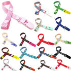Внешний вид - Baby Pacifier Clip Boy Girl Teething Dummy Soother Nipple Strap Chain Holder Kit