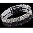 Diamante Stretch Bracelet Rhinestone Crystal