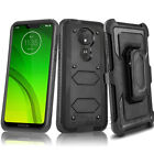 Motorola Moto Z4 G6 G7 Power Play Supra Clip Holster Case Cover SCREEN PROTECTOR