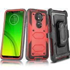 Motorola Moto E6 E5 Z4 G6 G7 Power Play Supra Clip Holster Case SCREEN PROTECTOR