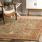nuLOOM Traditional Traditional Geraldine Area Rug in Olive
