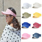 CA Unisex Adjustable Leather Strap Back Fine Baseball Golf Hats Womens Cap Visor