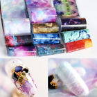 Nail Foils Stickers Psychedelic Sky Series Transfer Decals Decoration 50cm*4cm