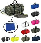 'Bagbase Barrel Bag Foldable Lightweight Packaway Sports Gym Duffle Holdall