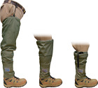 Chota Tundra Hippies - Convertible Hip Waders w/Gravel Guard Green Fly Fishing