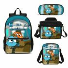 The Amazing World Of Gumball Kids Schoolbag Set Backpack Insulated Lunch Bag LOT