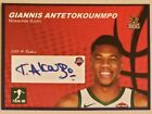 Giannis Antetokounmpo Milwaukee Bucks Draft Rookie Card Facsimile Autograph on eBay