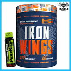 IRON HORSE SERIES IRON WINGS 572G PRE WORKOUT ENDURANCE RECOVERY AMINO ACID BCAA